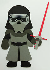 Star Wars Kylo Ren Paper Die Cut Scrapbook Embellishment