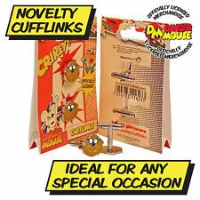 Danger Mouse DANGERMOUSE Penfold Cufflinks - Funky Kids Show Crikey Crumbs Gift