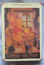 RARE, top quality Cork paper jigsaw puzzle Winnie the Pooh 1000 pc., all there