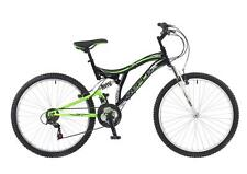 "Reflex Rockstar Gents 26"" Wheel 18 Speed Dual Suspension MTB Mountain Bike MTF15"