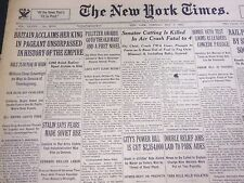 1935 MAY 7 NEW YORK TIMES - PULITZER AWARDS GO TO OLD MAID, FIRST NOVEL- NT 4924