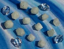 ANGEL WHITE RHODIZITE AND HERKIMER DIAMOND KIT. CRYSTAL HEALING, ORGONITE, REIKI