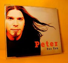 MAXI Single CD PETER EVRARD For You 4TR '03 pop rock incl. Lithium NIRVANA COVER
