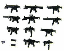 MP Complete Weapons Army Pack (P5) Compatible with toy brick minifigures MP5