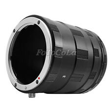 Macro Extension Tube 3 Ring Set For Nikon AF AI DSLR & SLR Camera Lens
