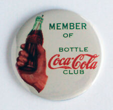 Coca Cola Club FRIDGE MAGNET (2.25 inches) sign coke soda bottle