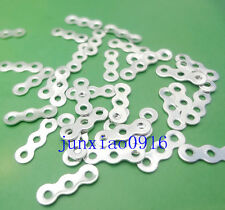 Lot 100pcs Gold/Silver 3 Hole 5 Hole Spacer Bars Connector Beads Separation