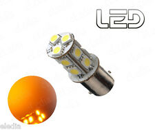1 Ampoule BA15s P21w Orange 13 LED SMD