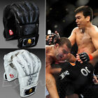 New MMA UFC Sparring Grappling Fight Boxing Punch Ultimate Mitts Leather Gloves