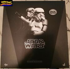 Hot Toys Star Wars A New Hope Stormtrooper Set Exclusive Special Edition MMS268