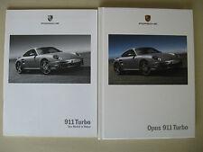 Prospectus + liste de prix porsche 911 turbo coupé 997 3,6 480 CH modèle 2006 2007 d