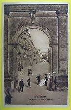MACERATA: Tre archi - Via Cavour
