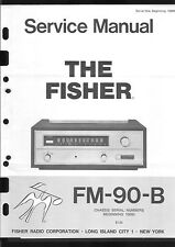 Fisher Service Manual für FM-90 B