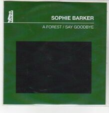 (DQ764) A Forest / Say Goodbye, Sophie Barker - 2011 DJ CD