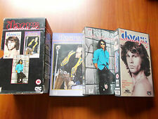 VHS THE DOORS COLLECTOR'S SET - DANCE ON FIRE THE SOFT PARADE HOLLYWOOD BOWL