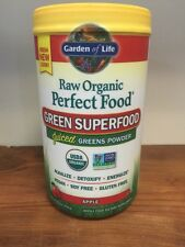 Garden of Life Perfect Food RAW APPLE Organic Green Super Food 224 grams Non-GMO