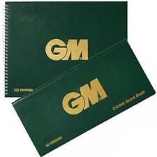 Gunn & Moore GM Accessories 100 Innings Scorebook Game Analysis