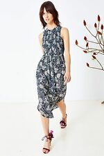ULLA JOHNSON GILI MAXI DRESS IN JAVA US 2 UK 6/8