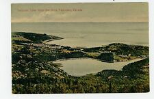 Tadousac Lake from the Hills—Antique QUEBEC CPR CPA 1910s