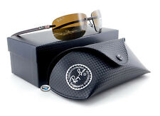 Ray-Ban TECH SERIES CARBON FIBER Sunglasses | RB8303 Brown/ Brown POLARIZED Lens
