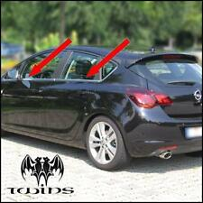 Strisce cromate sotto finestrini Opel Astra J 5p profili cromati 2009-2014