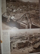 Photo article Hiroshima Japan as it was in 1946 and as it is today 1949