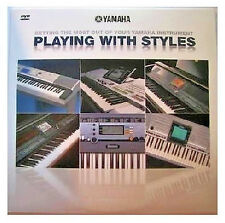 New Yamaha Playing with Styles DVD Disk for Many YPG, DGX, & PSR Model Keyboards