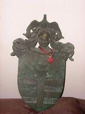 Araldica Antico  Stemma  Araldico di famiglia con Croce di MALTA Santo STEFANO
