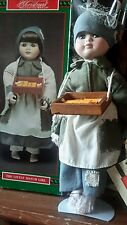 "House OfLloyd Christmas Around The World The Little Match Girl Doll 16"" tall"