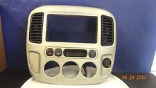 02 07 Ford Escape Mariner Heater AC Radio Center Dash Trim Bezel w Vents NICE OE