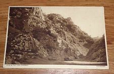 Antique/Vintage Postcard of Cheddar, View in the Pass
