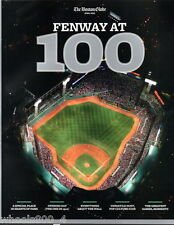 The Boston Globe FENWAY PARK at 100 Years April 2012 Boston Red Sox NR/Mint