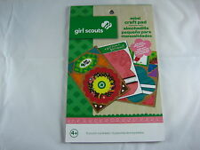 Colorbok Girl Scouts Mini Craft Pad - 10 Punch-Out Sheets