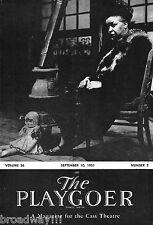 """Ethel Waters """"MEMBER OF THE WEDDING"""" Carson McCullers 1951 Detroit Playbill"""