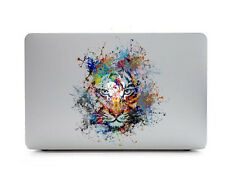 Colorful Tiger Animal Laptop Macbook MAC decal sticker for Apple Air Pro Retina