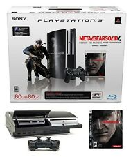 PlayStation 3 Backwards Compatible Metal Gear Solid 4 Bundle 500GB Console + Box