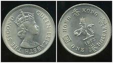 HONG KONG  1 dollar 1973 ( SUP + )
