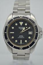 Vintage Rare Heuer Mens Divers Watch 980.006 Pre-TAG Heuer Movement Serviced