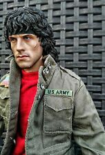 Custom 1/6 Rambo Sylvester Stallone no Hot Toys Enterbay