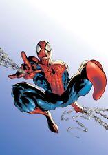 Spider-Man Comic Style Costume Pattern