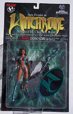 WITCHBLADE. SARA PEZZINI AS WITCHBLADE. SERIES I ACTION FIGURE. CLAYBURN MOORE.