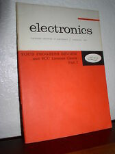 Electronics: Your Progress Review...and FCC License Check-Part I #3711 (1964,PB)