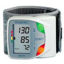 LifeSource UB-512 Advanced Memory Wrist Blood Pressure Monitor