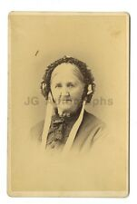 19th Century Fashion - 1800s Cabinet Card Photograph - J. H. Peters of New York