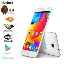 "5.5"" QHD Capacitive Android 4.4 DualSim 3G Support Smart Cell Phone GSM UNLOCKED"