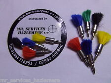 .22 MILBRO Darts for Air Rifle - Air Pistol.packet of 20 Soft tail Darts.5.5mm.