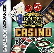 NEW Golden Nugget Casino & Cards for Game boy Advance FACTORY SEALED