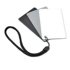 JJC GC-3 Set of 3 Digital Grey white balance card waterproof portable strap GC3