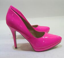 """NEW Hot Pink 5""""Stiletto high heel pointy toe sexy  shoes .Size   6"""
