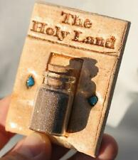 Holy Land Sand Wall Hanging- Israel Bible Earth Soil&Stones Jerusalem Christian